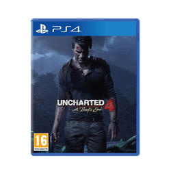 Uncharted 4: The Thief's End Standard Plus PS4