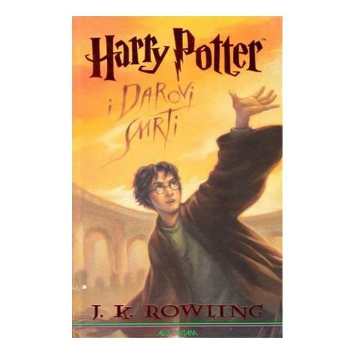 Harry Potter i Darovi smrti, J.K.Rowling