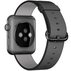 Apple Watch remen 42mm Woven Nylon  - Crna