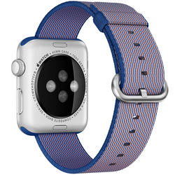 Apple Watch remen 42mm Woven Nylon  - Kraljevski Plava