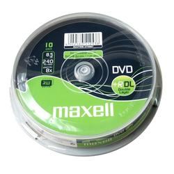 Maxell DVD+R DL,8.5GB,10 kom spindle