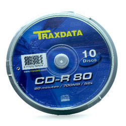 Medij CD-R 52x, 700MB, printable, spindle 10 kom