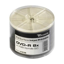 Medij DVD-R 8x, 4.7GB, Full Printable, spindle 50 komada