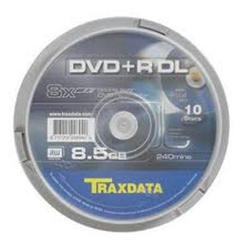 Medij DVD+R 8x, Dual Layer, 8.5GB, spindle 10 komada