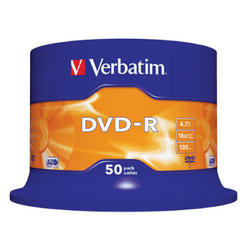 Medij DVD-R 16x, 4.7GB, Matt Silver, spindle, 50 komada