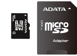 Adata SD MICRO 16GB HC Class4 + SD adapter