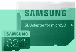 SD micro 32GB PRO UHS Adapter