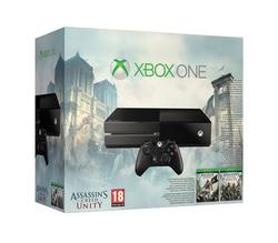 Microsoft Xbox One Console with Assassin's Creed Unity and Black Flag