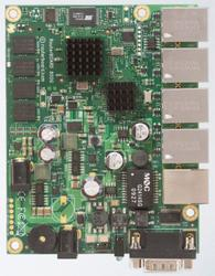 5 Port Wired Gigabit Ethernet Routerboard