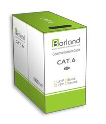 Cat6, UTP solid, 23AWG, copper 305m