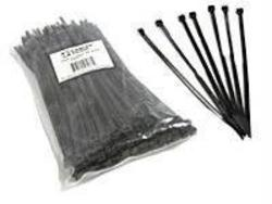 cable tie black 370 x 3.6, 100pcs