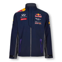 Red Bull Official Teamline Softshell jakna Plava