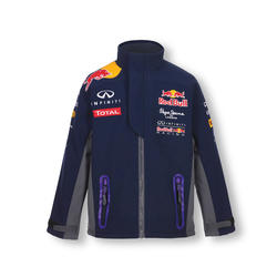 Red Bull Official Teamline Softshell Jakna Plava  - 128