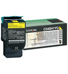 Toner C54x/ X54x yellow 2K