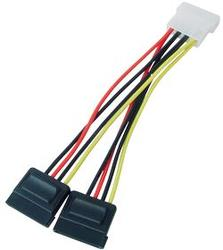 2x Sata Power Cable