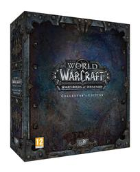World of Wacraft Warlords of Draenor Collectors Edition PC